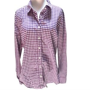 J.Crew the perfect shirt gingham button down